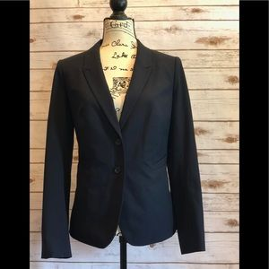 The Limited Navy Suit Jacket